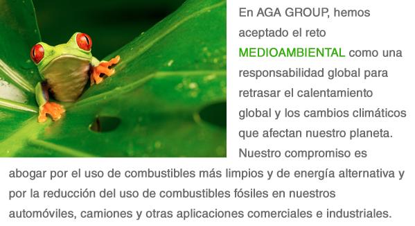 AGA Goes Green